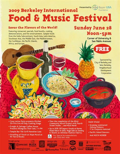 poster cuisine international food festival poster gallery