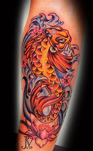 Girly Koi Fish Tattoos | sat amazingly! foi fish with ...