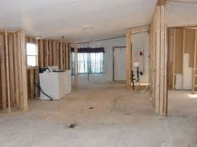 mobile home interior removing walls in a mobile home