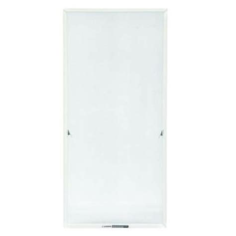 andersen truscene white aluminum casement insect screen