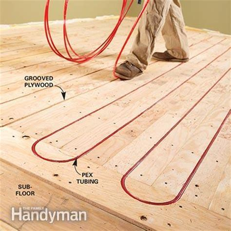 Electric vs. Hydronic Radiant Heat Systems   The Family
