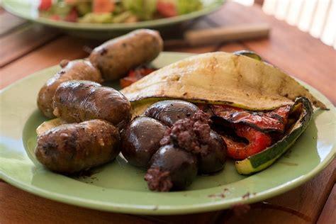 cuisine cr駮le antillaise 7 le boudin noir antillais