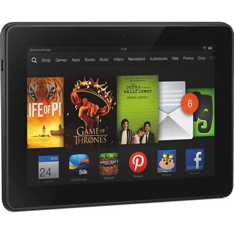"Kindle 16GB Fire HDX 7"" Tablet B00BWYQ9YE B&H Photo Video"
