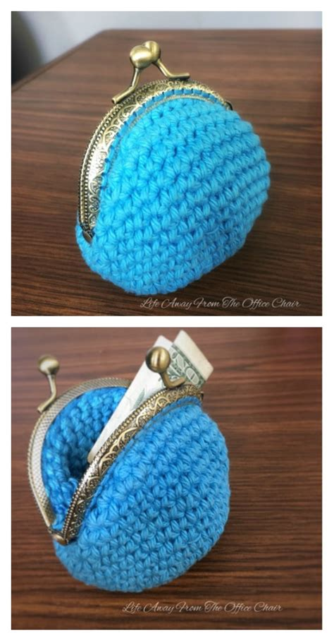 crocheted coin purse  patterns