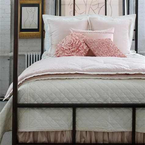 ann gish quilted linen bedding almost white flandb com