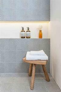 niche murale idees et conseils d39amenagement et de With carrelage adhesif salle de bain avec bougie lumineuse led