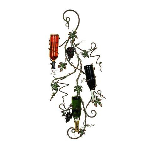 grape vine metal wall wine rack  shipping today overstockcom