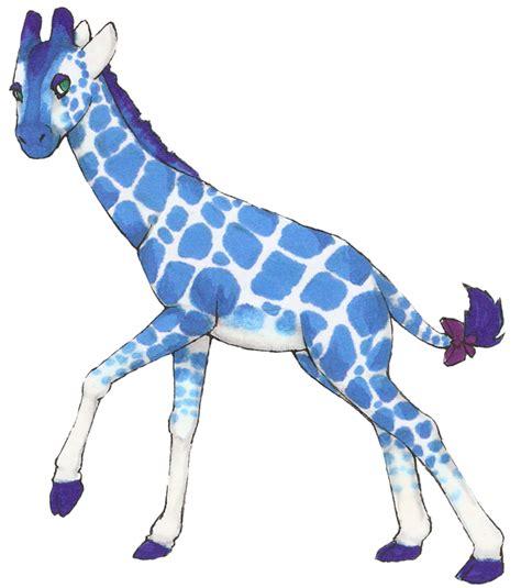 Thy Blue Giraffe By Stsukikocv On Deviantart