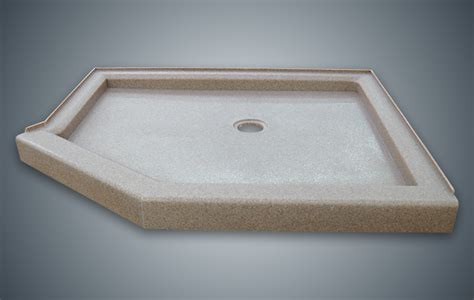 Used Shower Base - onyx collection custom shower bases shower pans