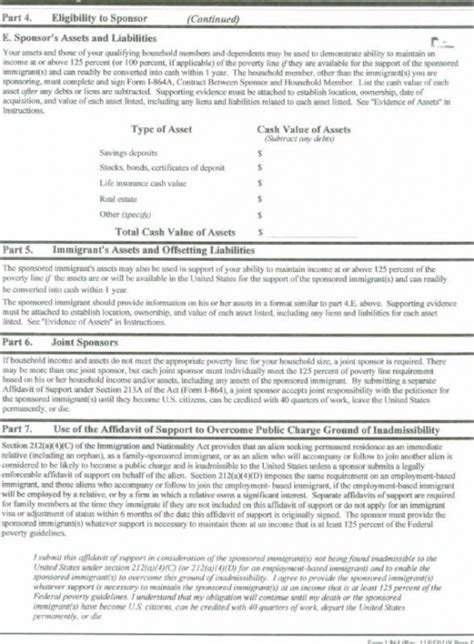 affidavit of support form i 864 craig ging s home on