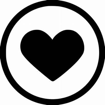 Icon Heart Romantic Svg Round Onlinewebfonts Eps