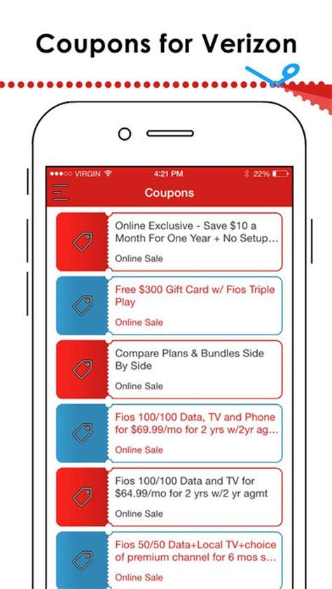 verizon iphone promo app shopper coupons for verizon shopping