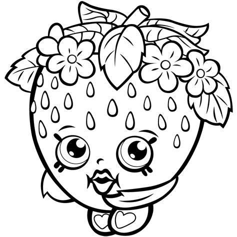Shopkins Printable Coloring Pages at GetColorings com