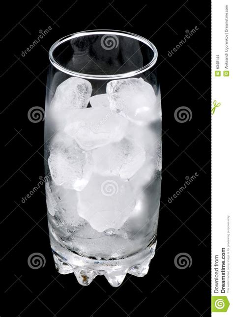 ice cubes  glass stock images image