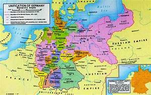 Germany Map Before and After Unification : Western ...