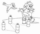 Coloring Pages Obstacles Stilts sketch template