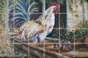 French Country Rooster Kitchen Curtains by French Country Rooster