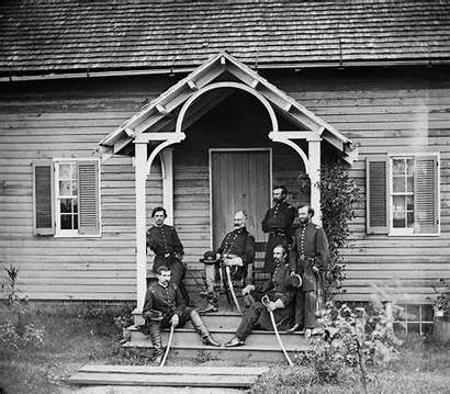 Patrick Union Portrait General Culpeper Officers Posing