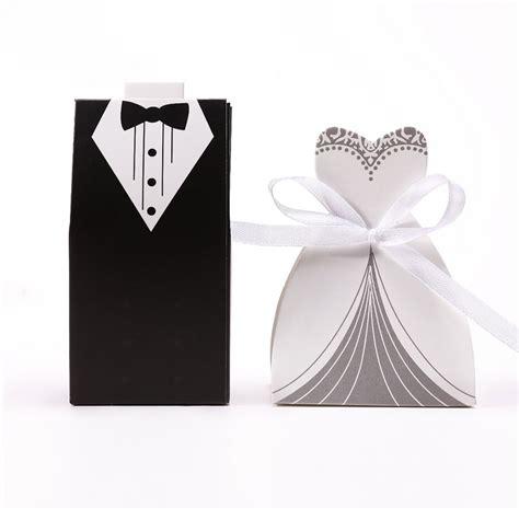 hot sale pcs wedding favor candy box bride groom