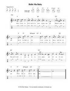 Ukulele Songs Sheet Music for Beginners