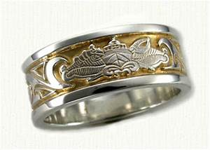 military inspired wedding rings affordable unique gold With navy wedding rings