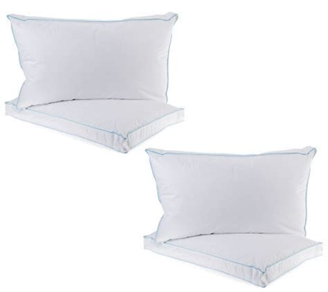 northern nights pillows northern nights qn s 4 gusset eurofeather pillows page 1