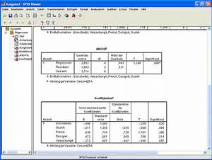 Stationäre Punkte Berechnen 2 Variablen : 2ask regressionen berechnen mit spss erstellen sie ~ Themetempest.com Abrechnung