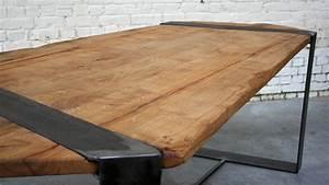 Table Plateau Bois : plateau bois brut pour table nouveau massif arangoslimo ~ Teatrodelosmanantiales.com Idées de Décoration