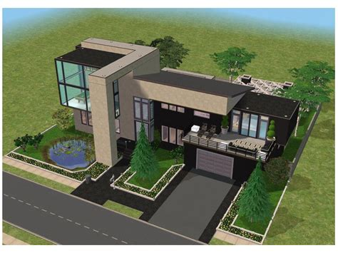 simple sims modern house plans ideas photo small modern house by ramborocky on deviantart