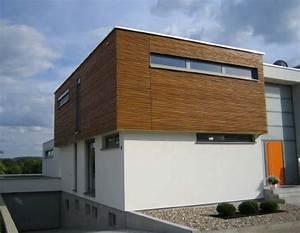 Fassadengestaltung Holz Und Putz : wohnhaus mit holzfassade ~ Michelbontemps.com Haus und Dekorationen