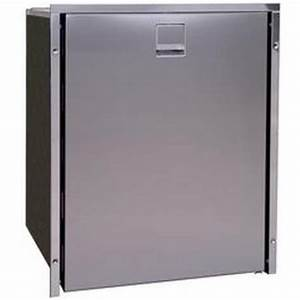 New Isotherm Cr85 S  S Inox Clean Touch Stainless Steel Fridge  Freezer - 12 Or 24 Volt