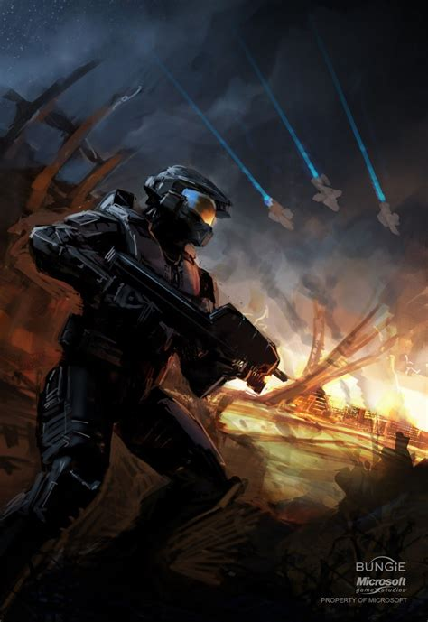 Master Chief Halo Isaac Hannaford Video Game Stuff