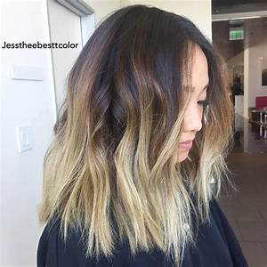 Balayage Ombré Blond : 60 best ombre hair color ideas for blond brown red and ~ Carolinahurricanesstore.com Idées de Décoration