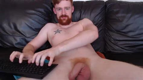 Uncut British Ginger Doing Nothing