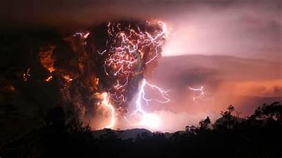 Lightning Storm Nature Clouds Rain Wallpapers Sky