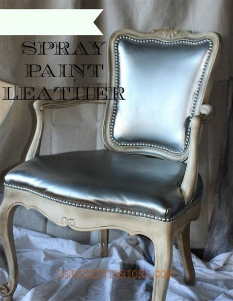 Spray Paint Leather Sofa by 33 Ways Spray Paint Can Make Your Stuff Look More Expensive