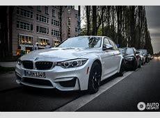 F80 BMW M3 Sedan in Mineral White