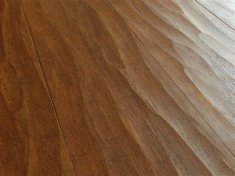 Engineered Strand Woven Bamboo Flooring: walnut wide plank