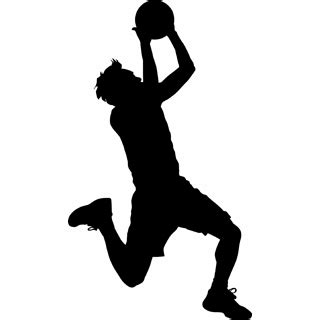 basketball player clipart black and white basketball player clip cliparts co