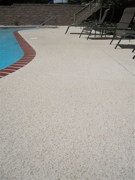 resurface aggregate pool deck a wonderful sundek classic texture design with a two color