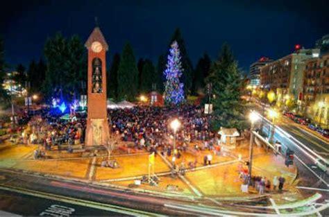 vancouver washington christmas holiday tree pictures