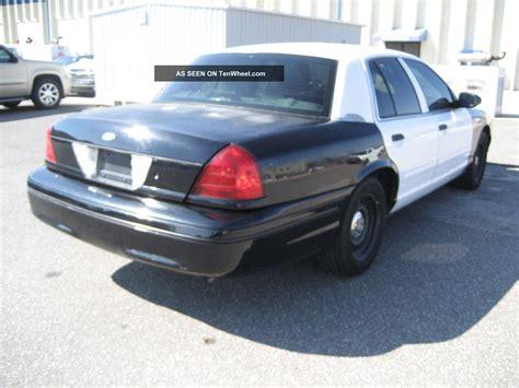 2002 Ford Crown Victoria Police Interceptor Fleet Unit