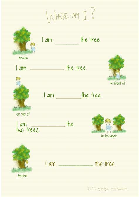 prepositions worksheets for preschoolers prepositions