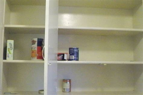 Empty Kitchen Cabinet Campaign