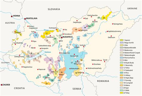 weingueter weinregionen und weinanbaugebiete  ungarn