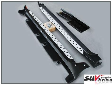 hyundai ix running board side step bmw style  ix