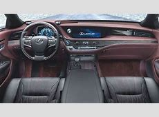 Lexus LS 2018 dimensions, boot space and interior