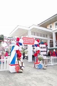 Kara's Party Ideas Red White + Blue Nautical Birthday