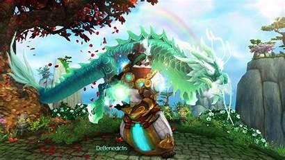 Warcraft Deviantart Banner Monk Pandaren Debenedictis Mistweaver