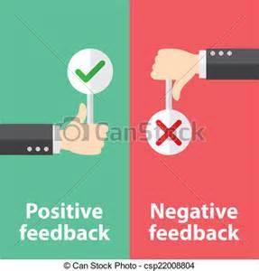 Positive and Negative Clip Art